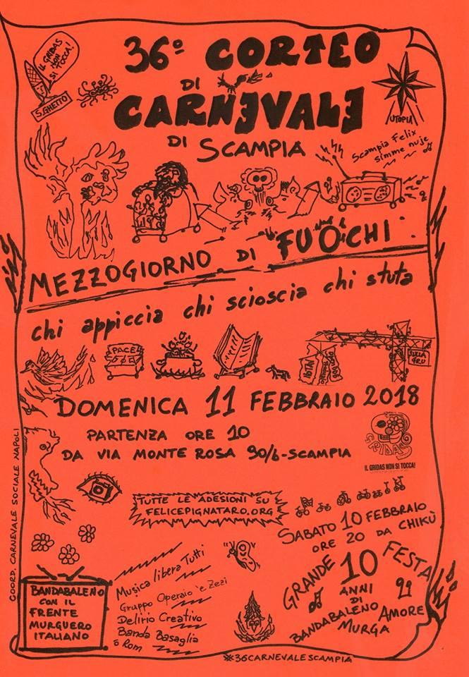 Carnevale gridas2018